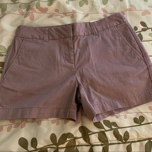 Loft dark tan/ khaki shorts